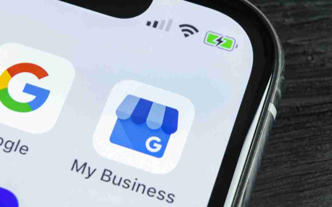 Google My Business Icon on cell phone | Melissa Merriam Online Marketing Consulting